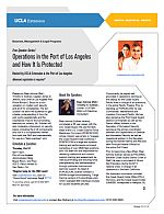 Free Speaker Series Operations in the Port of Los Angeles