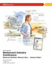 19th Annual Restaurant Conference Booklet